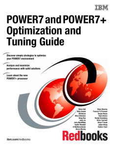 POWER7 and POWER7+ Optimization and Tuning Guide Front cover