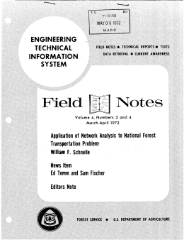 Notes Field ENGINEERING TECHNICAL