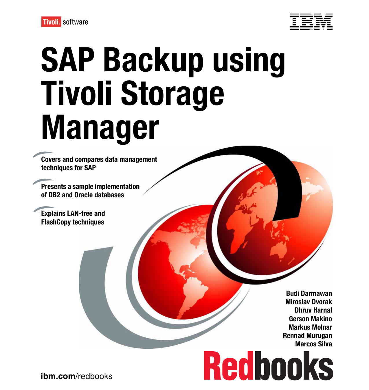 SAP Backup using Tivoli Storage Manager Front cover