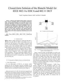Closed-form Solution of the Bianchi Model for Member, IEEE