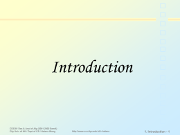 Introduction 1. Introduction - 1
