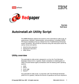 Red paper Autoinstall.sh Utility Script