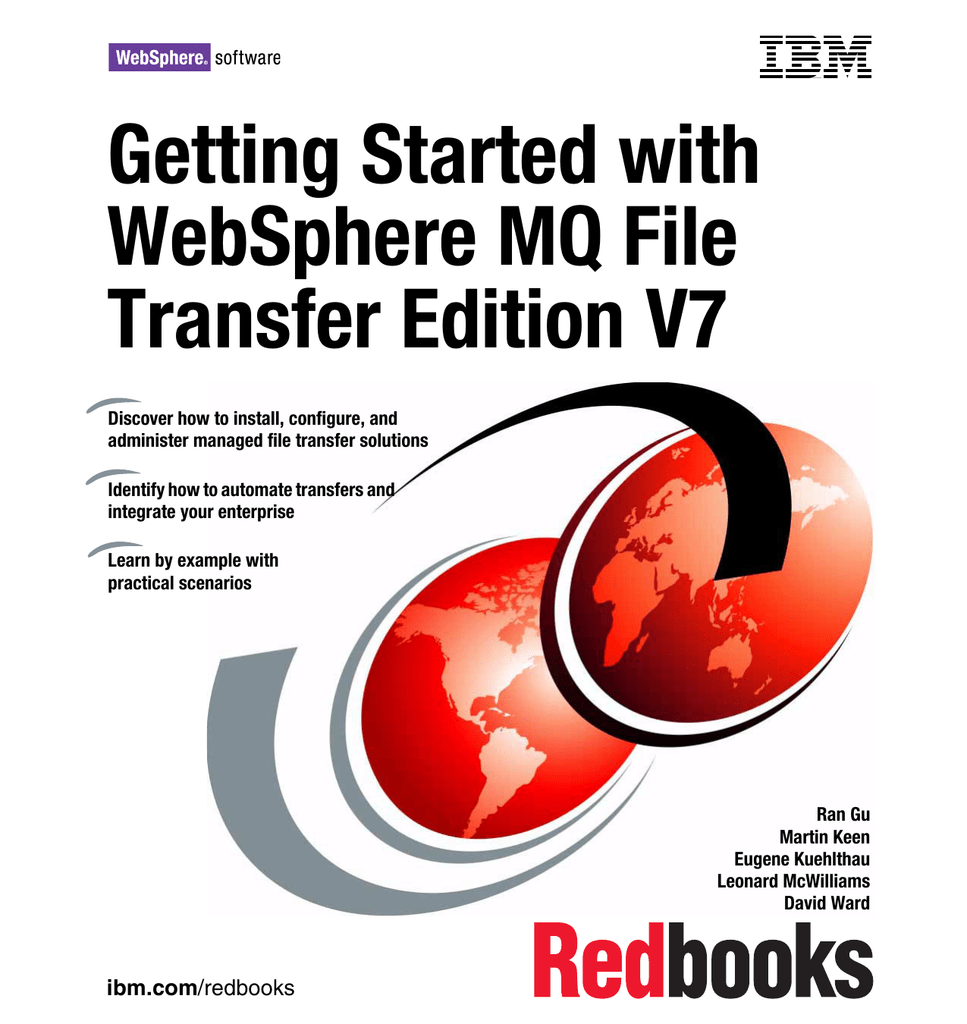 Getting Started with WebSphere MQ File Transfer Edition V7