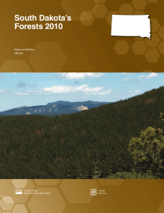 South Dakota's Forests 2010 Resource Bulletin NRS-81
