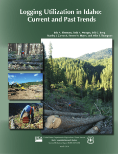 Logging Utilization in Idaho: Current and Past Trends