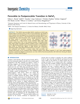 Perovskite to Postperovskite Transition in NaFeF