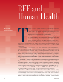 T RFF and Human Health