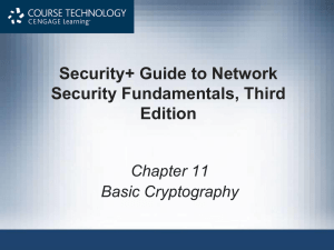 Security+ Guide to Network Security Fundamentals, Third Edition Chapter 11