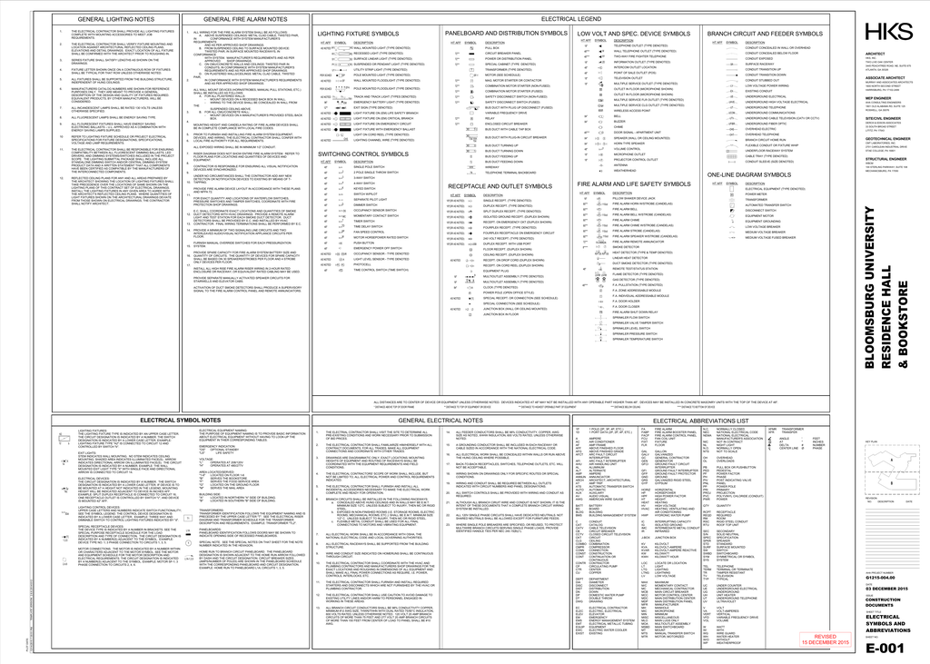 GENERAL ELECTRICAL NOTES