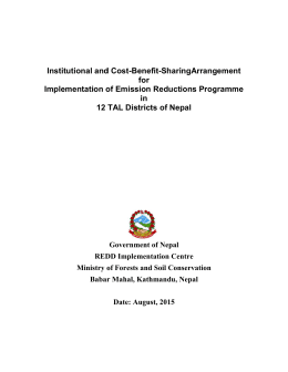 http://mofsc-redd.gov.np/wp-content/uploads/2013/11/Institutional-and-Cost-Benefit-sharing-arrangement-12-tal-districts.pdf