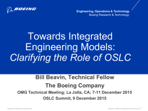 Towards Integrated Engineering Models: Clarifying the Role of OSLC 
