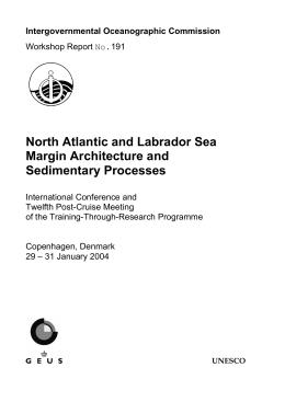North Atlantic and Labrador Sea Margin Architecture and Sedimentary Processes