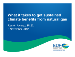 What it takes to get sustained climate benefits from natural gas
