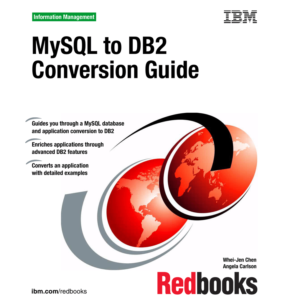 Mysql To Db2 Conversion Guide Front Cover M sukajan sizing guide | store policies. studylib