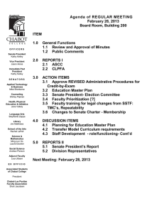 Agenda of REGULAR MEETING February 28, 2013 Board Room, Building 200