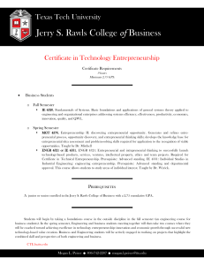 Jerry S. Rawls College of Texas Tech University