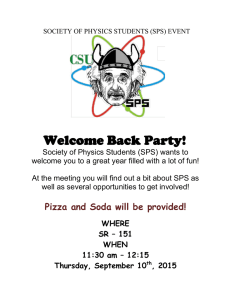 Welcome Back Party!