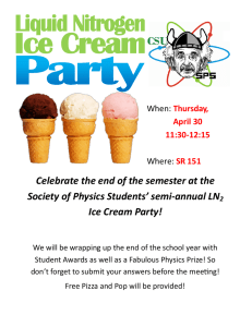 Celebrate the end of the semester at the  Ice Cream Party!