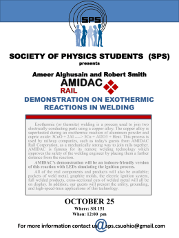 SOCIETY OF PHYSICS STUDENTS  (SPS)