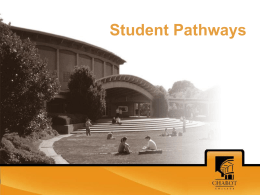 Student Pathways