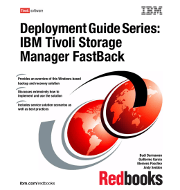 Deployment Guide Series: IBM Tivoli Storage Manager FastBack Front cover