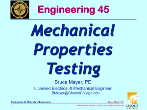Mechanical Properties Testing Engineering 45
