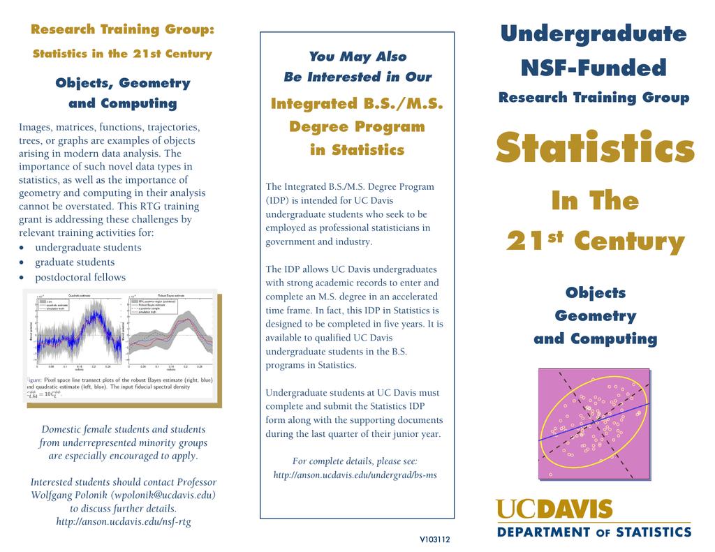 Statistics Undergraduate NSF-Funded