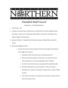 Classified Staff Council