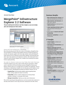 MergePoint Infrastructure Explorer 2.2 Software Business Benefits