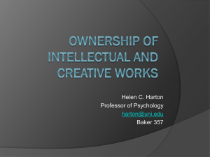 Helen C. Harton Professor of Psychology Baker 357