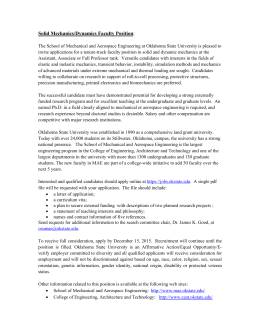 Solid Mechanics/Dynamics Faculty Position