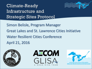Climate-Ready Infrastructure and Strategic Sites Protocol