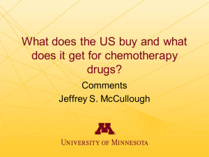 What does the US buy and what drugs? Comments