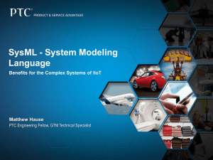 SysML - System Modeling Language Benefits for the Complex Systems of IIoT