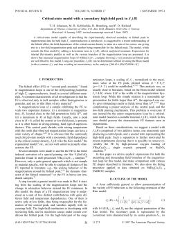 J B T. H. Johansen, M. R. Koblischka, H. Bratsberg, and P....