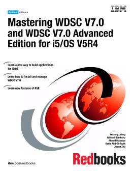 Mastering WDSC V7.0 and WDSC V7.0 Advanced Edition for i5/OS V5R4 Front cover