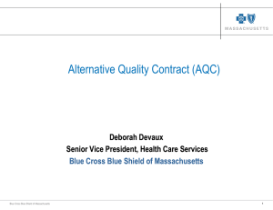 Alternative Quality Contract (AQC)