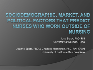 Lisa Black, PhD, RN University of Nevada, Reno