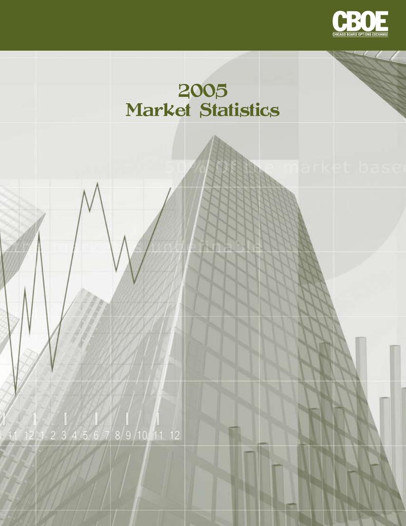 2005 Market Statistics