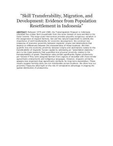 """Skill Transferability, Migration, and Development: Evidence from Population"