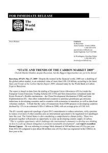 The World Bank FOR IMMEDIATE RELEASE