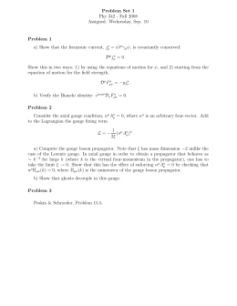 Problem Set 1 Phy 342 - Fall 2008 Assigned: Wednesday, Sep. 10