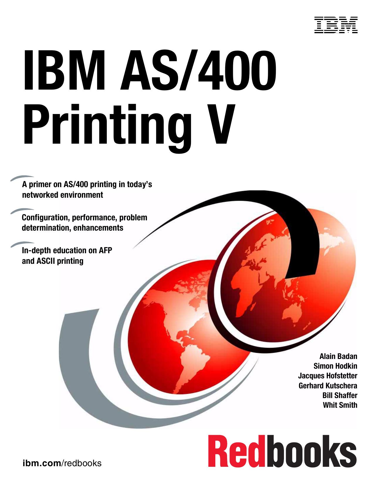 IBM AS/400 Printing V