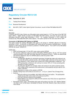 Regulatory Circular RG13-125