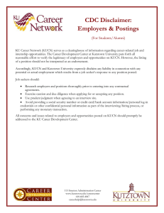 CDC Disclaimer: Employers & Postings  (For Students/Alumni)