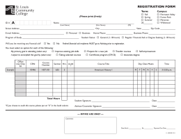A REGISTRATION FORM