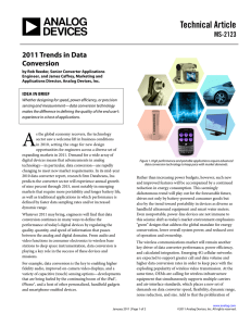 Technical Article 2011 Trends in Data Conversion MS-2123
