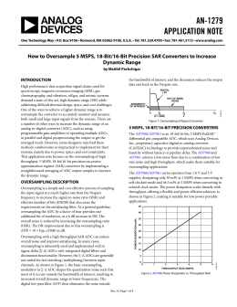AN-1279 APPLICATION NOTE