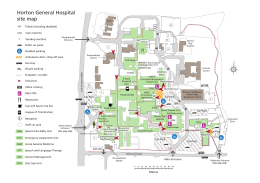 Horton General Hospital site map