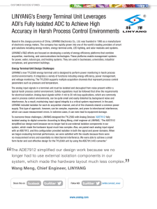 LINYANG's Energy Terminal Unit Leverages Accuracy in Harsh Process Control Environments